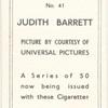 Judith Barrett.