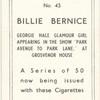 Bellie Bernice.