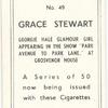 Grace Stewart.