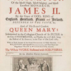 The history of the coronation of ... James II ... King of England, Scotland, France and Ireland, and of ... Queen Mary ... in ... Westminster ... the 23 of April ... 1685 ... [Title page]