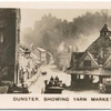 Dunster, showing Yarn Market.
