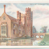 Oxburgh Hall, Norfolk. The home of Sir of H.E. Paston-Bedingfeld, Bart.