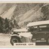 Service car.