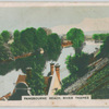 Pangbourne Reach. River Thames.