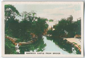 Warwick Castle from bridge.