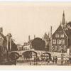 Bruges. Le pont du Béguinage.