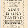 Stage, cinema, dancing celebrities.