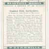 Haddon Hall, Derbyshire. A home of the Duke of Rutland.