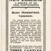 Bush Homestead, Taranaki.
