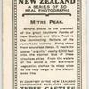 Mitre Peak, Milford Sound.