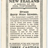 Otago Boys' High School.