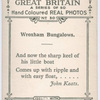 Wroxham Bungalows.