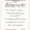 The death sign
