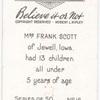 Mrs. Frank Scott's children