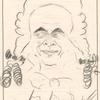 "[Caruso caricature of Adam Didur as Ottavio in Ermanno Wolf-Ferrari's ""Le Donne curiose"".]"