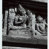Prambanan - General. Prambanan, a Lokapala, or guardian deity on the outside wall of the Shiva temple. Photo: Claire Holt, 1956, neg. #265.