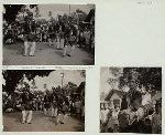 East Java. Tulung Agung [Tulungagung], Reog [dancing drummers], 1938.