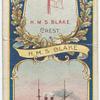 H.M.S. Blake. 1st Class Cruiser (1889).