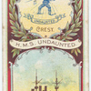 H.M.S. Undaunted. Armoured Cruiser (1886).