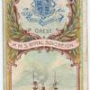 H.M.S. Royal Sovereign. 1st Class Battleship (1891).