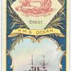 H.M.S. Ocean. 1st Class Battleship (1898).