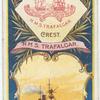 H.M.S. Trafalgar. 2nd Class Battleship (1887).
