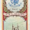 H.M.S. Renown. 1st Class Battleship (1895).