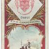 H.M.S. Camperdown. 2nd Class Battleship (1885).