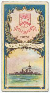 H.M.S. Collingwood. 2nd Class Battleship (1882).