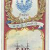 H.M.S. Doris. 2nd Class Cruiser (1896).