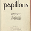 Papillons, [Title page]