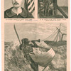 Captain Paul Boyton, the famous life-saver. [three images]