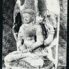 Java, East: Antiquities, Bangil [town]. Stone aArdhanari from Bangil. Mus. Modjokerto #433. Photo: Lembaga Purbakala, D.P. #1915 (ordered by A. Atwell).