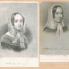 Fredrika Bremer [two portraits].