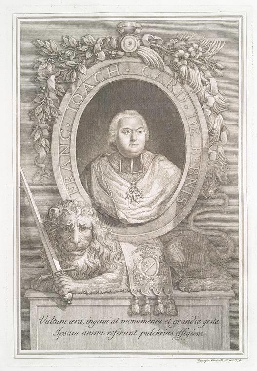 This is What Francois-Joachim de Pierre de Bernis Looked Like  in 1772