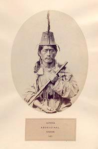 Lepcha, aboriginal, Sikhim. [m... Digital ID: 1125282. New York Public Library