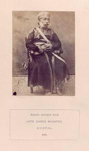 Rajah Kissen Ram, late Under Minister, Bhopal.