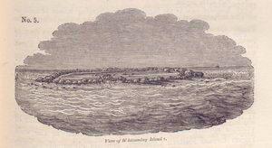 View of Whitsunday Island.
