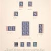 1c blue Franklin carrier stamp reprint single