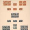 30c orange brown Columbus at La Rabida block of four