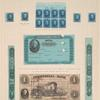 5c blue Taylor plate number block of eight