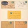 10c green Washington single on cover