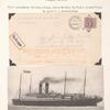 1919 first airplane delivery, shore to ship at sea cover