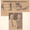 1937 Long Island to Conneticut flight newspaper article
