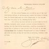 1910 early ship-to-shore attempt - S. S. Pennsylvania, letter
