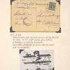 1909 demonstration flight by Glenn Curtis, Brescia Air Meet postcard