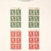 1c green Franklin booklet pane of six