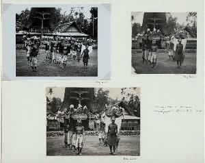 Manganda at Kalambe. Photographer: Claire Holt, 1938. Neg. C61,C62.