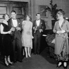 L to R: Elizabeth Risdon (Christina), Elliot Cabot (David), Margalo Gillmore (Hester), Earle Larimore (Robert) and Laura Hope Crews (Mrs. Phelps).