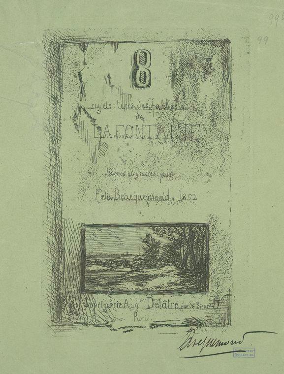 Fascinating Historical Picture of Jean de La Fontaine in 1852